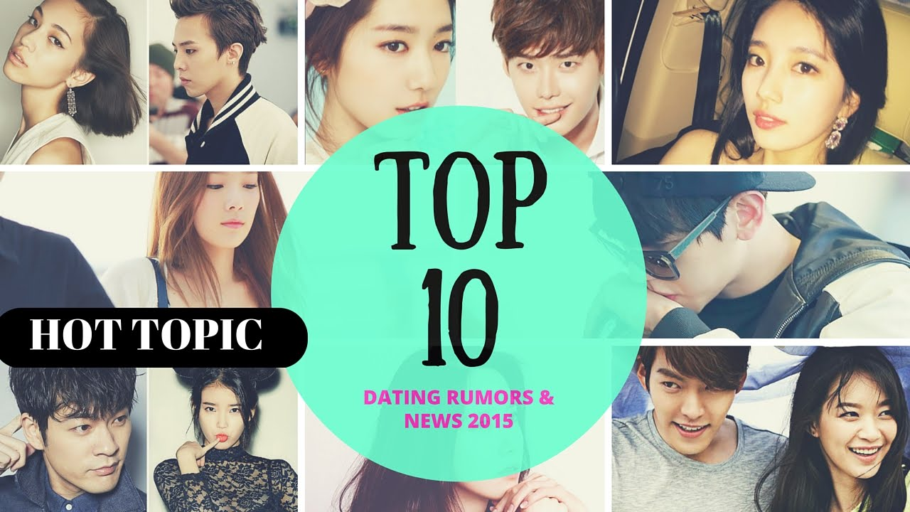Korean idols dating rumours