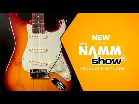 NAMM 2016 - Fender American Elite Stratocaster Electric Guitar