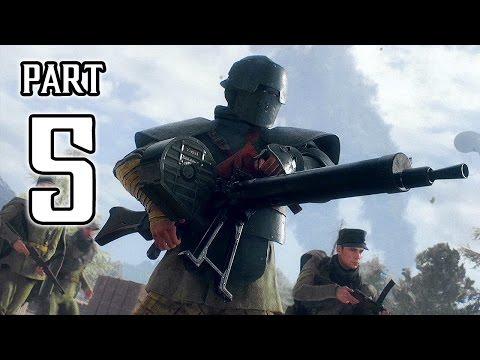 Battlefield 1 Walkthrough PART 5 Gameplay No Commentary @ 1080p (60ᶠᵖˢ) HD ✔