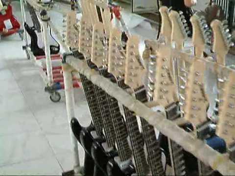 part2 Guitar Factory Manufacturing Rino88 Guitars