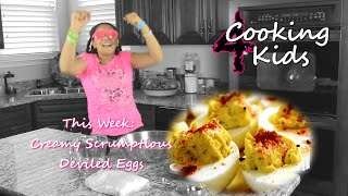 Cooking 4 Kids- Creamy Deviled Eggs W/ Youngdeezyyy