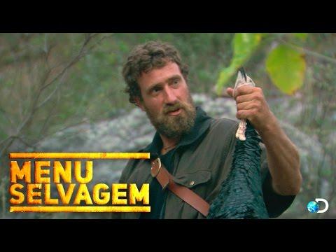 Churrasco na selva: assando um peru dentro de um buraco - Menu Selvagem l Discovery Channel