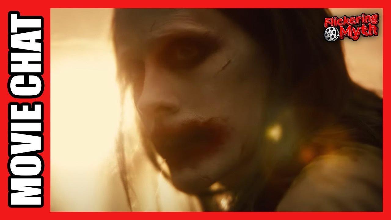 Zack Snyder's Justice League Trailer Breakdown   Flickering Myth Movie Chat