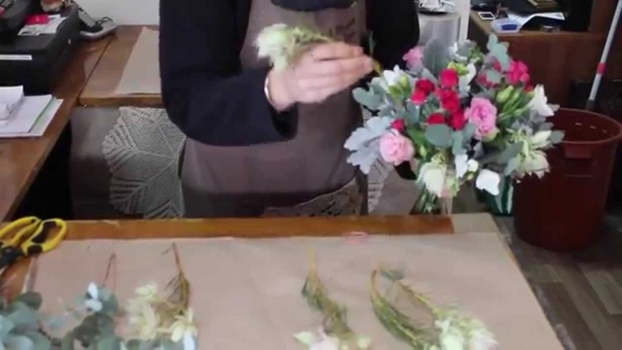 How to create a simple posy youtube how to create a simple posy rachel read florist izmirmasajfo