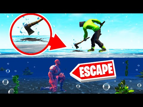 WORK TOGETHER To ESCAPE From This DEATHRUN! (Fortnite)