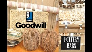 Goodwill Thrift Home Decor Haul | Pottery Barn Finds for $1.99!!