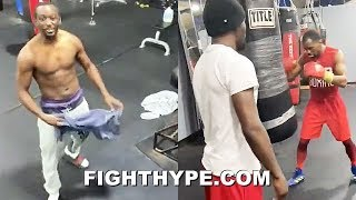 """""""IT'S WHOOP ASS DAY"""" - TERENCE CRAWFORD BACK IN CAMP; GIVES ADVICE TO JAMEL HERRING FOR NEXT FIGHT"""