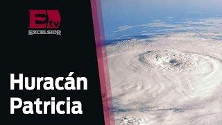 Así se formó el huracán Patricia  / Excélsior Informa