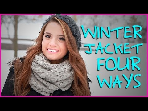 How to Wear a Winter Jacket Four Ways | Get Ready With Me