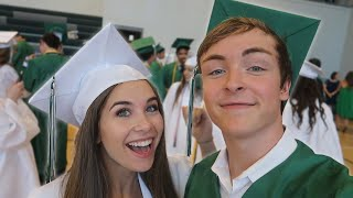 Graduating High School with My Future Wife