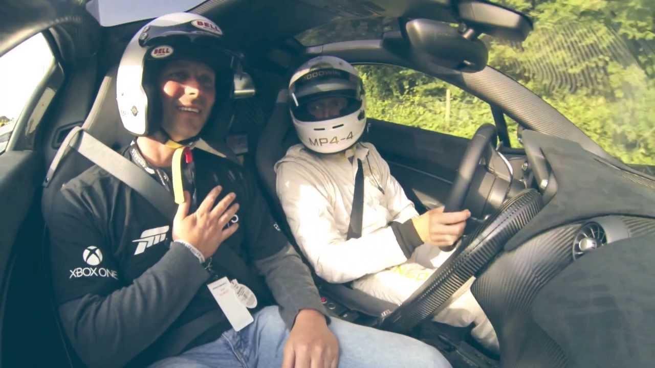 Forza McLaren Ride - The Prize