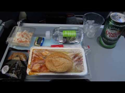 Air Canada Trip Report: AC847 Munich To Toronto - Meal In Economy Class