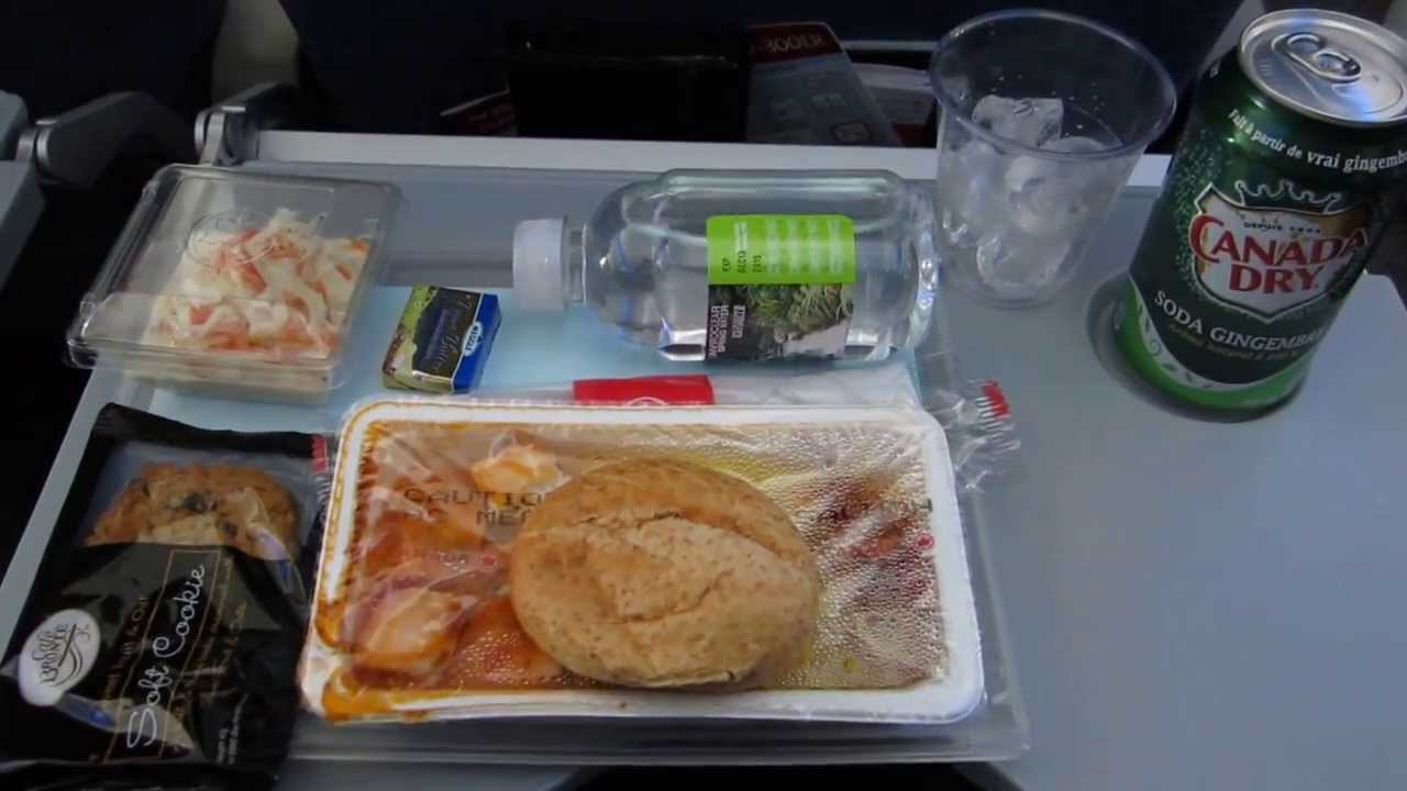 Air Canada Trip Report Ac847 Munich To Toronto Meal In