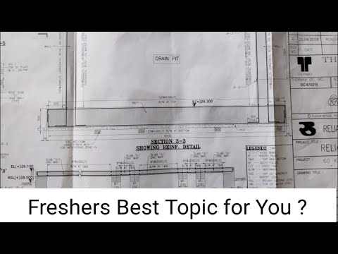 Civil Engineering drawing reading best procedure | Freshers must watch