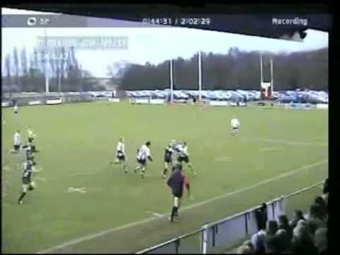 Anthony Carter Rugby Full Back Highlights