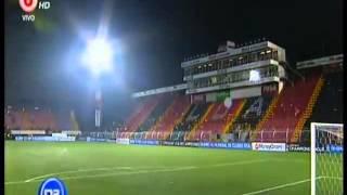 Bronca al Final del Partido entre Alajuelense y Cruz Azul