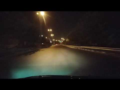 A night at the city Tehran in time lapse