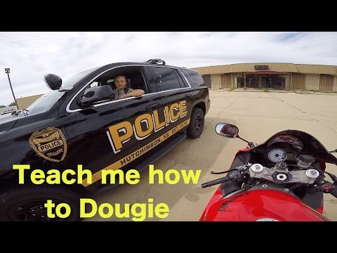 🏍ASKING COPS TO DANCE 😁