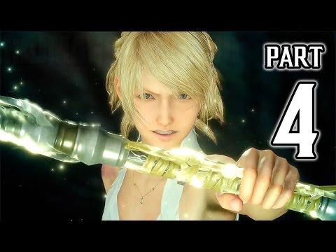 Final Fantasy XV Walkthrough PART 4 (PS4 Pro) No Commentary Gameplay @ 1080p HD ✔