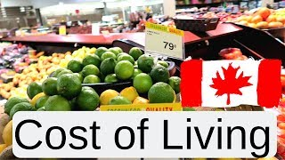 Prices in Canada - Cost of Living and Groceries