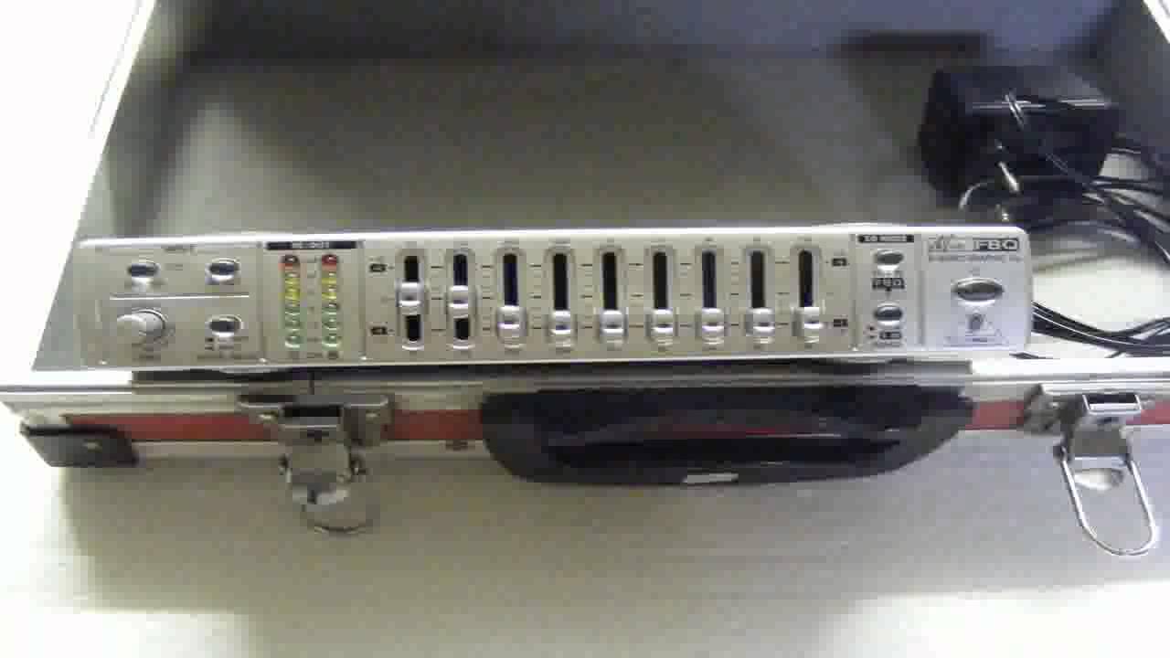 Behringer MINIFBQ FBQ800