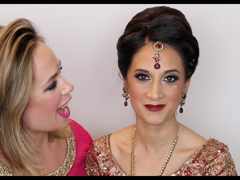 Classic Asian Bridal Makeup Tutorial