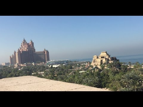 Atlantis Aquaventure: The Palm Dubai - Vlog December 2017 (part 1)