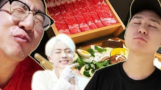 BTS Jin's restaurant review! (after a month)