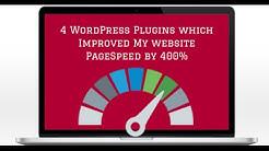 Wordpress plugins to increase site speed by 400%