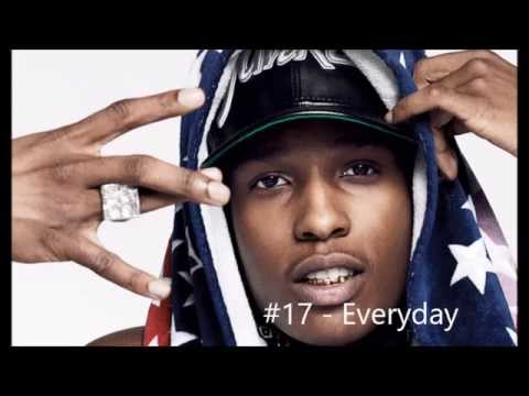 Top 25 A$AP Rocky Songs