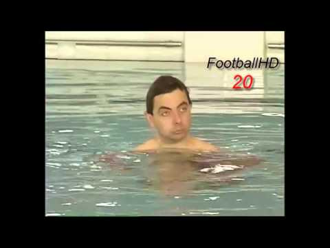 Mr Bean Swimming Pool Hd Youtube