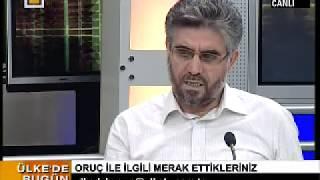 Ülke Tv – Haber Programı / Oruç ile İlgili Merak Ettiklerimiz