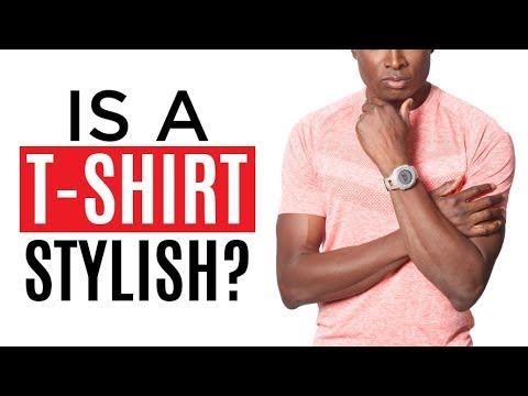 Are T-Shirts Stylish?  T-Shirt Smart Style Choice For Men?  RMRS Fashion Advice