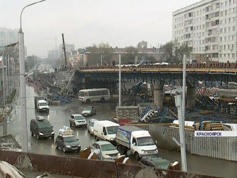 Строительство двухуровневой развязки на 2-ой Брянской закончат к 1 ноября (Новости 12.10.16)