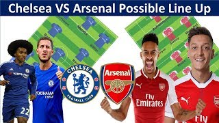 Chelsea vs Arsenal possible Line Up|| Chelsea vs Arsenal Squad