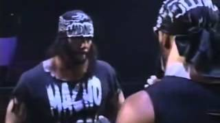 Hollywood Hogan calls out Randy Savage - WCW Thunder - 2/12/98