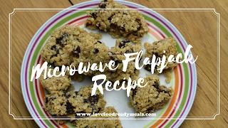 Microwave Flapjack Recipe