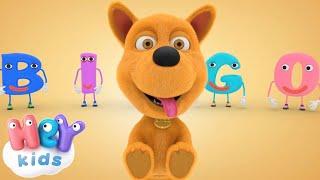 Щенок По Кличке Бинго - Учим буквы - Развивающие песни для детей