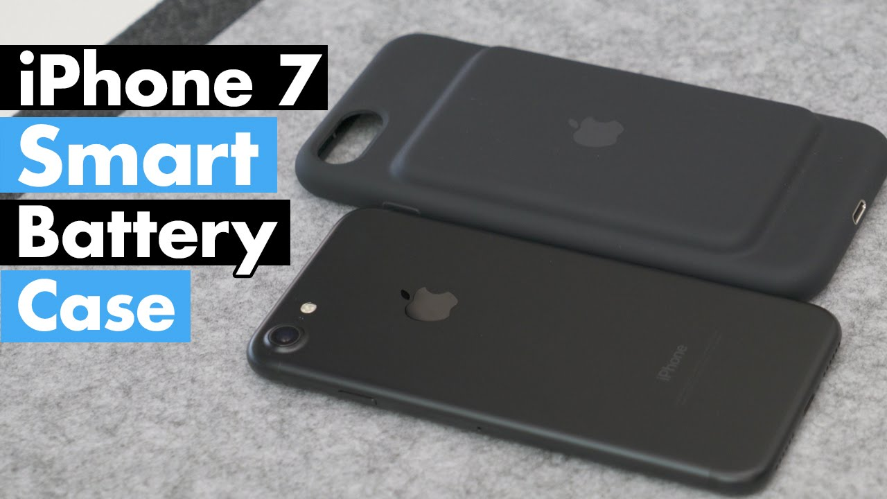 Apple Iphone 7 Smart Battery Case Review Youtube