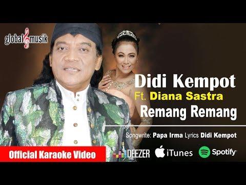 Didi Kempot Ft. Diana Sastra - Remang Remang (Official Music Video)