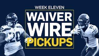 Week 11 Waiver Wire Pickups (Fantasy Football)