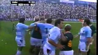 Rugby - Los Pumas vs Sudafrica - Borges cae a la Fosa