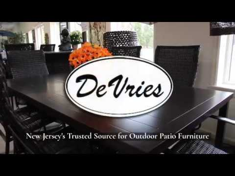 Devries New Jersey S Source For Outdoor Furniture Since 1953