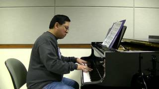 Vivaldi - The Four Seasons - Winter (2nd movement) - Marcel Talangbayan - piano