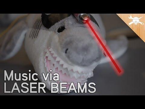Hack a $5 Laser Pointer to Transmit Music!