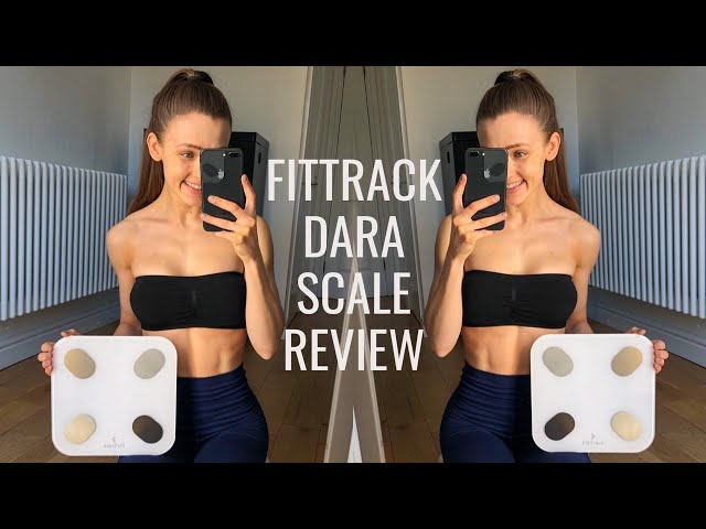 FitTrack Dara Scale & App / NEW Discount code in description / App Indicators, Scale design & Demo!