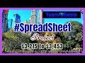 $3,215 to $3,453 (1)  SpreadSheet Project With NADEX Binaries  #SpreadSheetProject