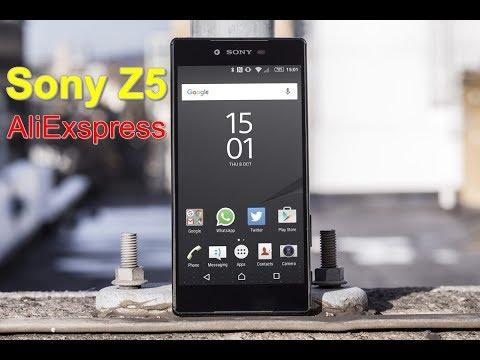 Sony Z5 (S501S0) С AliExpress РАСПАКОВКА