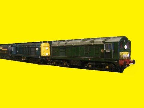 Model Railways - Diesel & Electric action