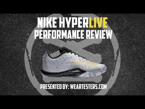 Nike Hyperlive - Weartesters Performance Review - YouTube 5394e1b01
